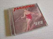 THUNDER The Thrill Of It All CD UK PRESS + CARDS NO LP