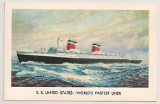 S. S. United States World's Fastest Liner