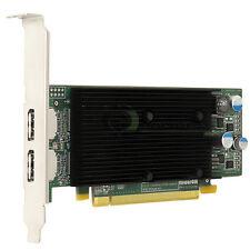 Matrox M9128 LP 1GB PCIe x16 Dual DisplayPort Graphics Adapter M9128-E1024LAF