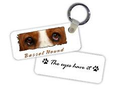 Basset  Hound  The  Eyes Have It   Key  Chain