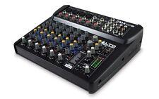 Alto ZMX122FX 8 Channel FX Audio Mixer Band Karaoke Sound System Studio Effects