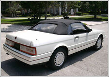 NEW Cadillac allante Convertible Soft Top HAARTZ Vinyl 1987-1993