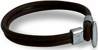RDX Men's Leather Bracelet Hand Wristband Cuff Belt Fashion Jewelry