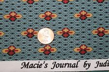 """""""CIVIL WAR MACIE'S JOURNAL"""" REPRODUCTION QUILT FABRIC BTY MARCUS 2361-0150"""