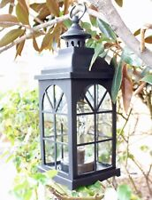 "12"" Vintage Led Metal Lantern Lamp String Fairy Firefly Warm Light Bulb included"