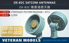 VETERAN 1/350 OE-82C SATCOM ANTENNAS resin upgrade