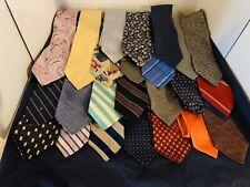 Lot Of 50 Silk Neckties Tie Tommy Ralph Lauren Chaps CK DKNY