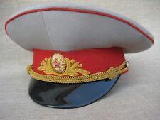 -- Soviet General Parade Visor Cap 1970's-1980's