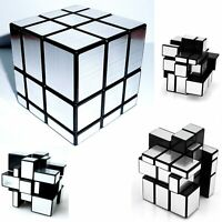 Shengshou Mirror / 3 layers Magic Cube  Puzzle - Silver BK