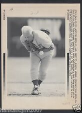 Tom Lasorda Fielding Practice 1993 Vintage A/P Laser Wire Photo with caption
