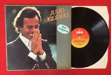 JULIO IGLESIAS FIDÈLE VIENS M'EMBRASSER CBS85066 G+ VINYLE 33T LP