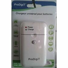 ProDigiT chu-usb-pdt Universal Battery Charger for Cameras White