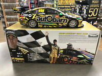2018 CRAIG LOWNDES FINAL RACE GOLD NEWCASTLE 500 HOLDEN COMMODORE 1:18 MODEL CAR