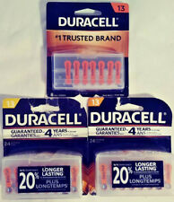 Duracell Hearing Aid Batteries 13 Easytab Lot Of 56 Total 2019 1.4 V Free Ship