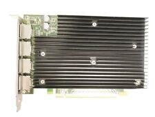 Video Card For HP Nvidia Quadro NVS 512MB GDDR3 Quad Port PCI-E x16492187-001