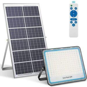 faro faretto led pannello solare SMD 200w ip67.luce fredda 6500k.impermeabile
