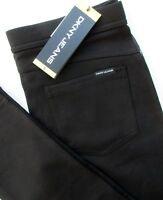 DKNY JEANS Pull On Leggings Comfort Stretch Pant Mid Rise Black Blue S M L XL