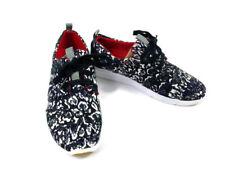 New Toms Prabal Gurung Black Snow Leopard Women's Del Rey Sneakers, Size 6