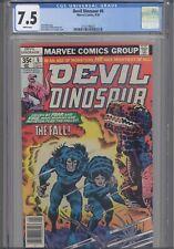 Devil Dinosaur #6 CGC 7.5 1978 Marvel Comic Jack Kirby : New Frame! Price Drop!