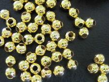 40 stuks tussenkralen (goudkleurig) 3,2mm