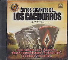 Los Cachorros de Juan Villareal Exitos Gigantes CD Nuevo sealed
