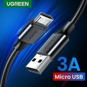 UGREEN Micro USB Schnellladekabel 3A, Farbe schwarz