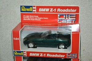 BMW Z1 Roadster 1989 REVELL 8624 Metal DIECAST 1/24 Green Convertible