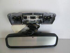 96-98 TOYOTA 4RUNNER REAR VIEW MIRROR WINDSHIELD AUTO DIM MAP LIGHT OEM BLACK