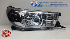 TOYOTA HILUX Head light Headlamp right RHS Driver side 07/2015+