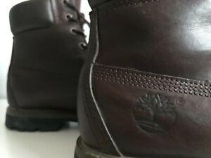 "Timberland Womens 6"" Premium Leather Boot"