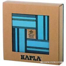 Kapla Blokken - Blauw (40 st) met boekje (door Kapla) 00501