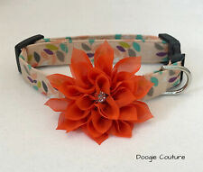 Happy Day Dog Collar Size XS-L by Doogie Couture