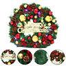 9ft Christmas Garland Fireplace Decoration Pine Xmas Tree Mantel Wreath Decor UK