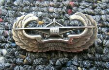 World War Two US Army Airborne glider rider wings 1 1/2 in. sterling pin-back #1