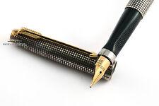 Parker Vintage 75 Flattop Sterling Silver Cisele Fountain Pen c.1960 - Rare!