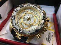 24274 Invicta Excursion 52mm Men's Quartz multifunction Silver Dial Strap Watch