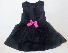 Genuine Kids by OshKosh Toddler Girls Black Lace Dress Size 18M NWT