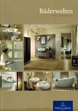 Villeroy & Boch, Bäderwelten, World of Bathrooms, Bad Badezimmer Katalog um 2013