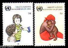 UNO Wien  Nr.    53-54  **  UNICEF Kampagne gegen Kindersterblichkeit