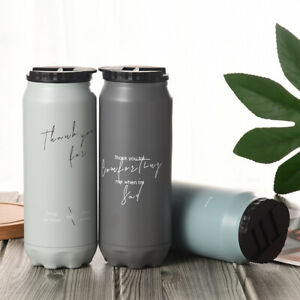 Stainless Steel Water Bottle Vacuum Insulated Metal Sport  Gym Drinks Flask D