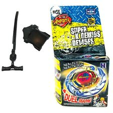 Killer / Evil Gemios Metal Fusion 4D Beyblade BB-56 Set With Launcher USA SELLER