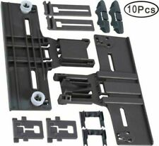 New listing Upgrated Dishwasher Top Rack Parts Adjuster Kit 10 Pack (W10350376 W10195840
