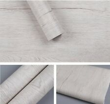 Faux Light Wood Grain Contact Paper Self Adhesive Wallpaper Kitchen Cabinets