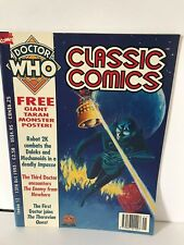 Doctor who Magazine - Classic Comics - Issue 12 - 13th October 1993 with poster