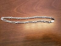 Real SILVER Unique Jewelry SOLID 925 Sterling Silver Chain Necklace Made Mexico