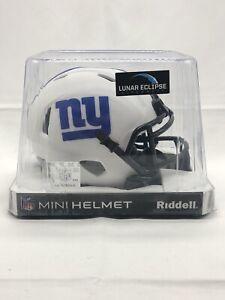 NY Giants - 2021 NFL Lunar Eclipse Riddell Speed Mini Helmet Free Shipping!