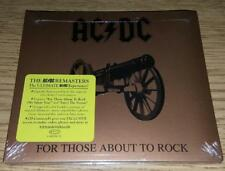 "AC/DC  ""For Those About To Rock""  NEW  (CD, 1981/2003)"