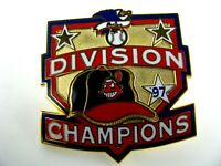 1997 Cleveland Indians Division Champions MLB Baseball Lapel Hat Pin