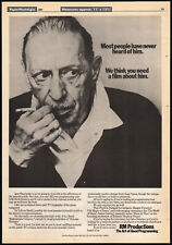 Igor Stravinsky_Orig. 1982 Trade Ad promo / poster_The Rite of Spring_composer