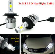 Car COB LED H4 Hi/Lo Dual Bulb Fog Driving Headlight Kit 160W 16000LM Waterproof